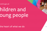 children and young people at the heart of what we do image of pre-school child