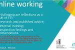 ETI Online Working resource