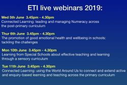 ETI Live Webinar series