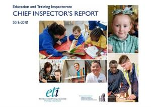Chief Inspector's Report 2016-2018 front cover