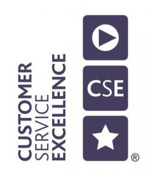 Customer Service Excellence logo.