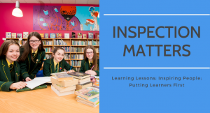 ETI Inspection Matters post-primary students photo
