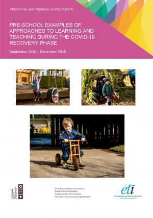 Pre-school Examples of Approaches to Learning and Teaching during the Covid-19 Recovery Phase cover page.