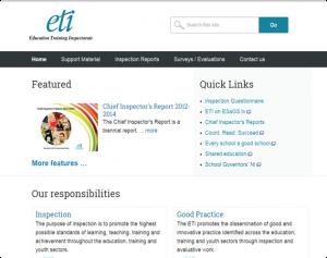 ETI website screenshot