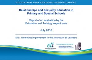 Relationships and Sexuality Education in Primary and Special Schools cover page