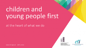 children and young people first at the heart of what we do