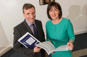 The Chief Inspectors, Noelle Buick (ETI) and Harold Hislop (DES Inspectorate)